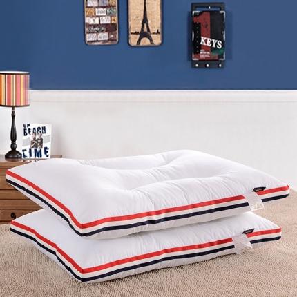 艾丽丝枕芯  英伦软枕  48*74CM  超柔低枕 软枕
