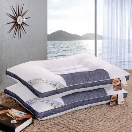 艾丽丝枕芯商务决明子枕 48*74CM 纯棉护颈枕芯不易变形
