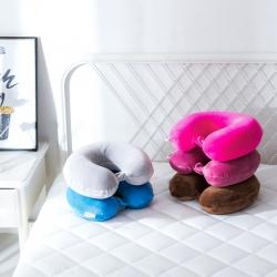 晓苑 乳胶枕护颈枕U型枕颈部靠枕护脖午睡枕汽车飞机头枕