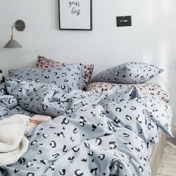 (总)2019四件套宜简风纯棉四件套被套床单斜纹三件套床笠