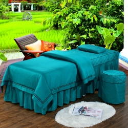 美容院床罩歐式簡約純全棉
