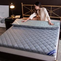 加厚针织防滑床垫学生宿舍单人1.5米1.8榻榻米床垫褥子