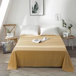 (总)卡诗兰顿 2019条纹全棉床单纯棉床单简约北欧风纯色