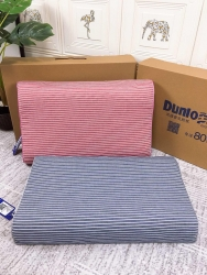 邓禄普条纹乳胶枕
