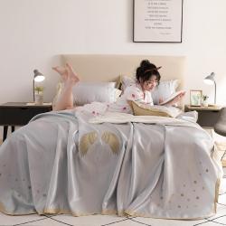(总)河马制造床单式 凉席 冰丝席空调调席 刺绣席绣花软席