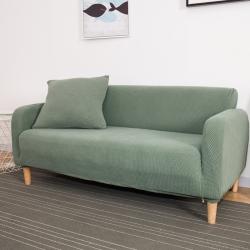 批發通用針織加厚沙發套單雙三人位沙發套全包全罩沙發墊跨境熱銷