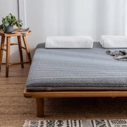 2019年新款乳膠床墊記憶高回彈床墊防塌陷墊加厚