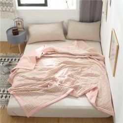 (總)賽格時代家居 夏被 新品  全棉色織水洗棉花夏被枕 芯