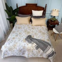 嘉赫优品一件代发夏季新品纯棉老粗布床单