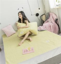 慕梵空调软席夏四件套夏凉被软垫子薄床垫三件套颜色自由搭配