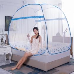 (總)冉美家紡 2019新款大頂鋼絲免安裝蚊帳