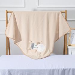 婴儿全棉抱被春秋夏纯棉抱毯初生儿被子襁褓彩棉睡袋新生儿包巾被