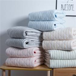 (总)丽涵家纺 2019年新品 天竺棉针织夏被全棉空调被