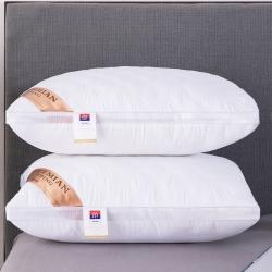 兴丝露枕芯 网边绗缝立体枕  双边枕头 网销赠品