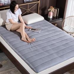 5D纯色透气床垫榻榻米褥子宿舍加厚软垫被