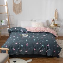 橡果家紡 被套單件 純棉單人1.5m米床雙人學生宿舍全棉被罩