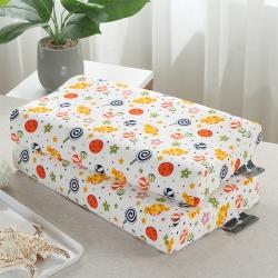 (總)賽格時代家居枕芯  全棉 炫彩卡通兒童乳膠枕