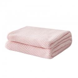 (总)颜初家居 2019新款初心系列毯子针织毯毛线毯搭毯
