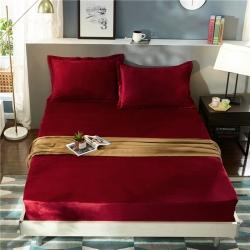 (总)金龙家纺 水晶绒?#21487;?#21333;层床笠可配枕套