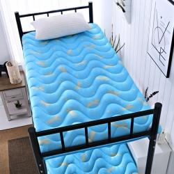 学生床垫5D印花透气0.9m米床褥子加厚榻榻米可折叠地铺睡垫