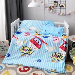 幼儿园被子六件套宝宝小被子棉花被六件套 全棉三件套婴幼儿