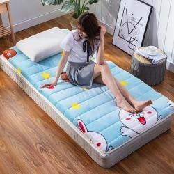 学生床垫宿舍单人0.9m米床褥子加厚榻榻米可折叠打地铺睡垫被