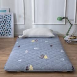 【19年爆款學生開學季】單人床墊子床褥學生床墊90cm1.0