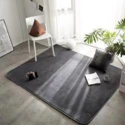 (总)凤凰林 2019新款素色地垫地毯 客厅垫 床边垫 脚垫