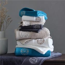 (总)紫树 2021年新款S绣标系列毛巾浴巾直播供货酒店用品