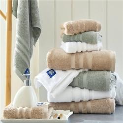 (总)紫树 2019新款条纹系列毛巾浴巾
