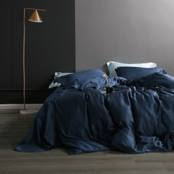 (总)2019黑白森林 莱赛尔纯色60天丝被套枕套床单四件套