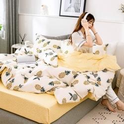 (總)2019年新品全棉12868斜紋印花四件套純棉雙人床品