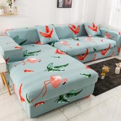 2019高端风格组合L型沙发套全包沙发套罩网红沙发套火鸟青春