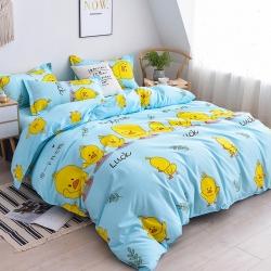 大量供應加厚保暖斜紋磨毛植物羊絨床上四件套床上用品三件套