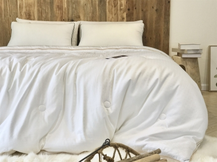 全尺寸纯棉子母被高端蚕蛹大豆二合一多功能拉链双胎被冬被四季被