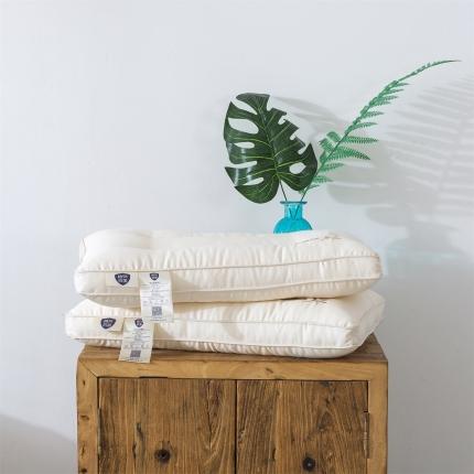 强烈推荐!高端纯天然板蓝根纤维婴童儿童抗菌枕柔软舒适透气枕芯
