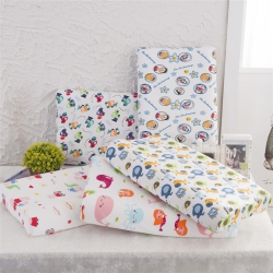儿童全棉卡通乳胶枕