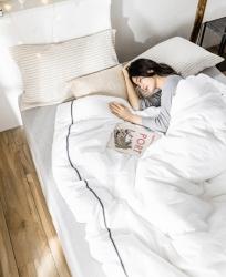 2019新款 加厚被子 纯棉冬被 全棉保暖被芯 简约酒店风格