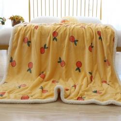 法萊絨羊羔絨毛毯牛奶絨毯子學生毯嬰兒毛毯