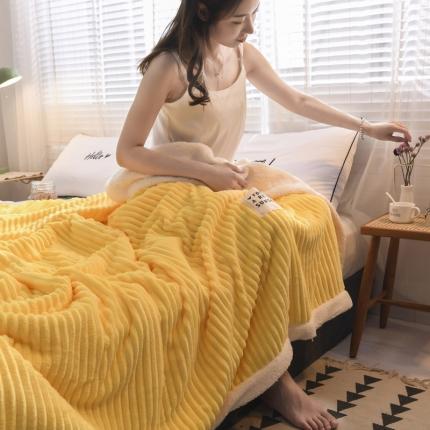 (总)KA家纺 2019新款魔法绒毛毯 加厚法兰绒 羊羔绒