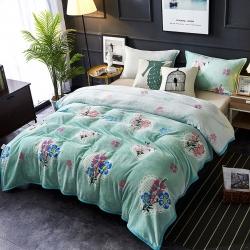 賦雅 加厚云貂絨毛毯 雙面絨休閑毯 法萊絨毛毯 枕套床單蓋毯