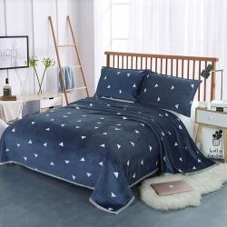御贊云貂絨毛毯 雙面絨床單 法萊絨毛毯云貂絨枕套 珊瑚絨毯