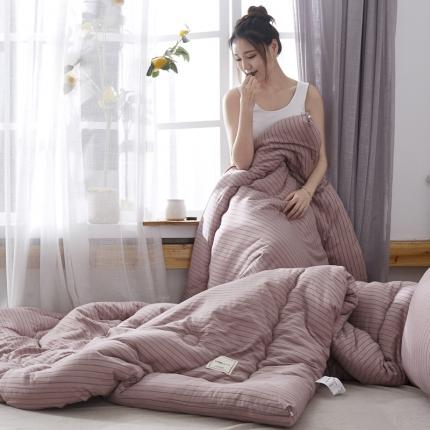 水洗棉冬被子加厚羽丝绒被芯   春秋被 冬被 冬被