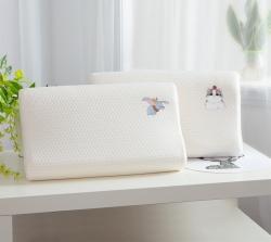 大耳象番茄猫天然儿童乳胶枕乳胶枕头枕芯