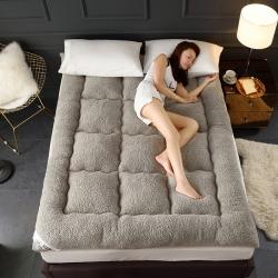 總-席洋洋  爆款法萊絨床墊+法萊絨床護墊+羊羔絨床墊