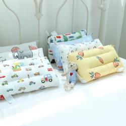 微枕芯特价全棉儿童羽丝绒枕  幼儿园小学生枕芯