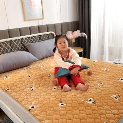 法萊絨床護墊可水洗床墊保暖薄床褥學生榻榻米墊子
