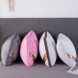 興絲露枕芯 三線格絎縫枕 立體枕 羽絲枕 枕頭 網銷贈品
