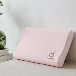爽肤透气高密网布儿童天然乳胶枕乳胶枕头枕芯