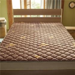 秋冬新品 牛奶絨床墊 防滑床褥 可機洗床護墊加厚保暖褥子